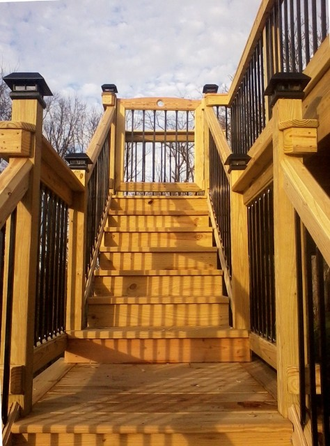 Ponderosa Straight Steel Balusters