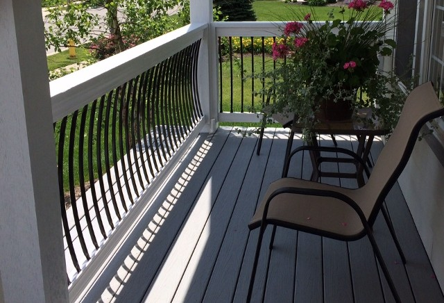 Archer Curved Steel Balusters